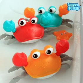 목욕놀이 해피꽃게 장난감_3종 세트 / 목욕놀이 장난감