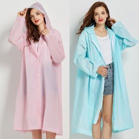 파스텔 EVA 비옷 낚시 레인코트 등산우비 캠핑 우의