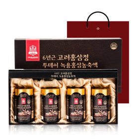 6YEAR GORYO DEER ANTLERS RED GINSENG EXTRACT 250gX4bottles