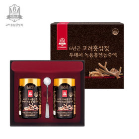 6YEAR GORYO DEER ANTLERS RED GINSENG EXTRACT 250gX2bottles