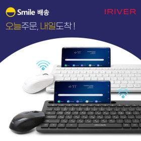 스마일 EQwear-V5000 무선키보드마우스세트 화이트