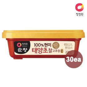 청정원 순창 (현미)찰고추장 200g x30개 (1box)