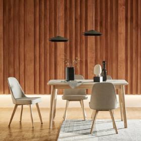도노 세라믹 4인 식탁세트 (의자4 포함) (8%할인)