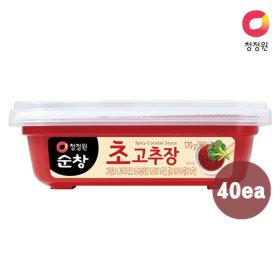 청정원 (쌀)초고추장 170g x40개 (1box)