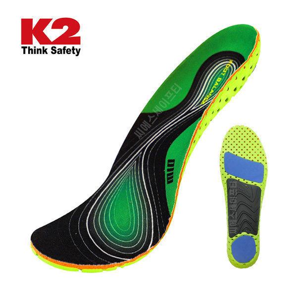 K2 풋 밸런스 인솔 IUA20998 아치보정 충격완화 상품이미지
