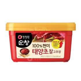 청정원 순창 (현미)찰고추장 2kg x6개 (1box)