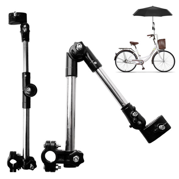 자전거 관절형 우산거치대 유모차 양산 우산스탠드 상품이미지