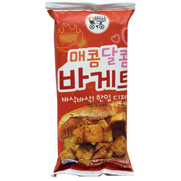 (무배)매콤달콤 바게트 90g 과자스낵/간식안주/프레첼 상품이미지