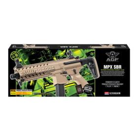 [아카데미] MPX-SBR 에어건 TAN 17118 비비탄총
