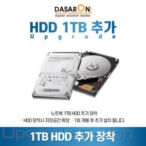 1TB HDD 추가 업그레이드 /용량저장공간 확보(Mini 5i)
