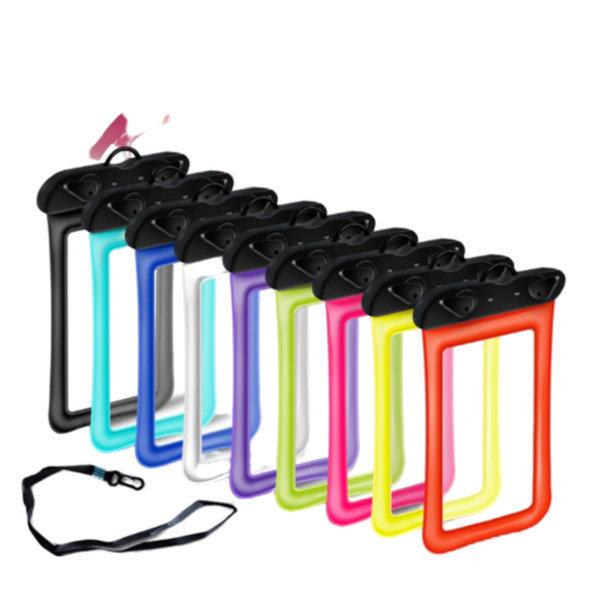 핸드폰 대형 방수팩1+1(화이트+옐로) 에어튜브케이스 상품이미지