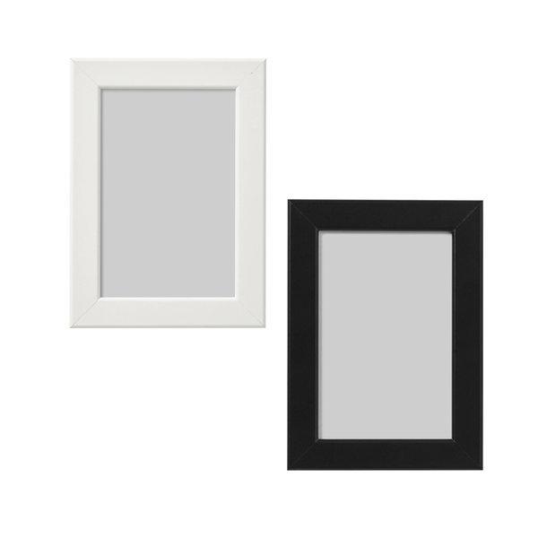이케아 피스크보 액자 10x15  화이트/블랙 상품이미지