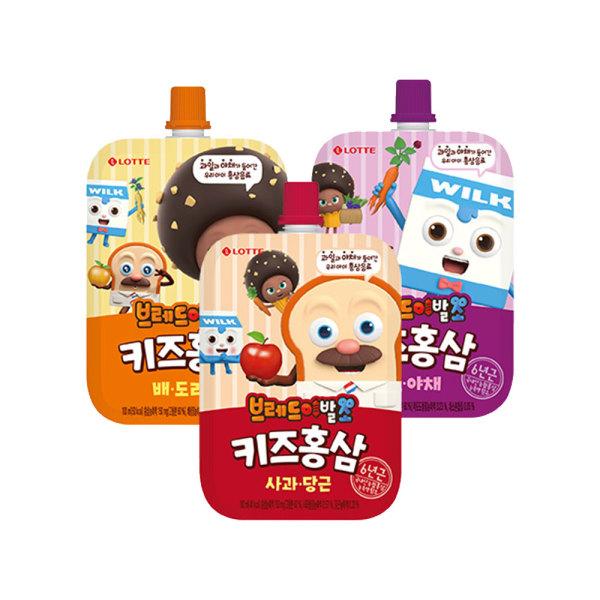 핑크퐁 키즈홍삼 사과당근+배도라지+포도야채 각10입 상품이미지