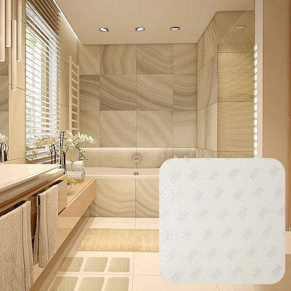 타일용 투명100x100_4매/욕실바닥 미끄럼방지 스티커 상품이미지