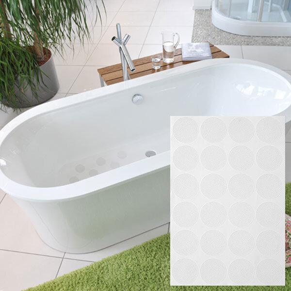 미끄럼방지테이프 원형 투명 30파이x24개/욕실스티커 상품이미지