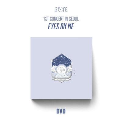 (DVD+POSTER) IZONE - 1ST CONCERT IN SEOUL EYES ON ME DVD