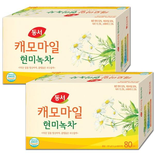 캐모마일 현미녹차 80T+80T: 달콤하고 향긋한~ 상품이미지