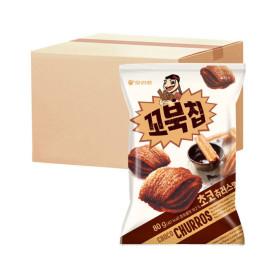 꼬북칩 초코츄러스맛 80g박스