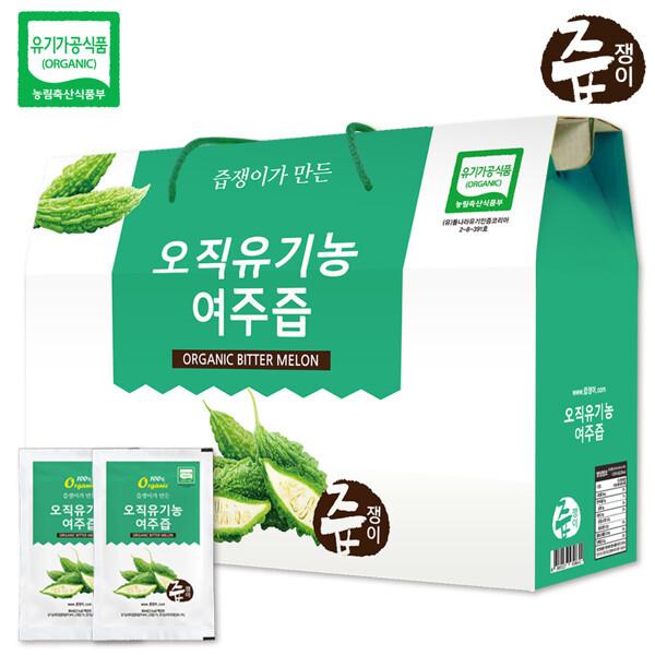 (현대Hmall) 즙쟁이 유기농 여주즙 1박스 30포 상품이미지