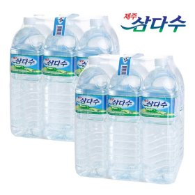 [SSG Fresh][무료배송] 제주 삼다수 2L 12병