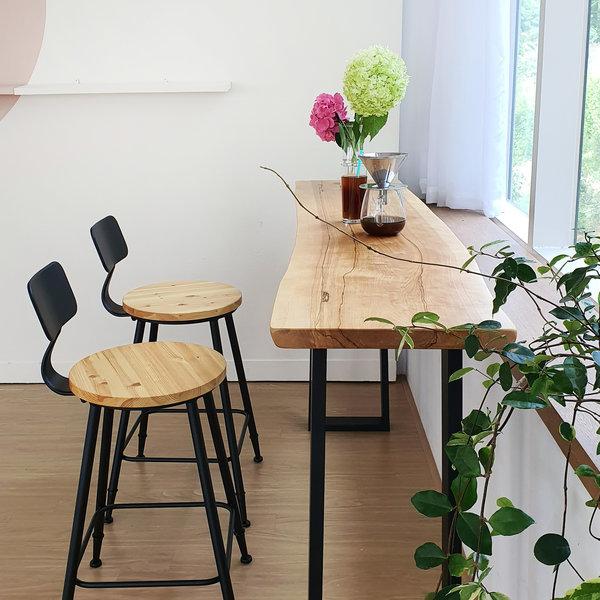 우드인미 박달나무 홈바테이블 1800-ap 상품이미지