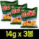 (무배)감자알칩 14g x 3봉(매운볶음고추장맛)/포카칩