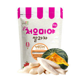 Ssalgwaja ma-eul/pop rice-squash/baby rice snack 10+3