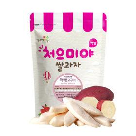 Ssalgwaja ma-eul/pop rice-sweet potato/baby rice snack 10+3