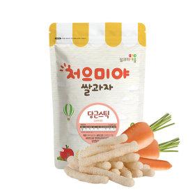 Ssalgwaja ma-eul/carrot stick/baby rice snack 10+3