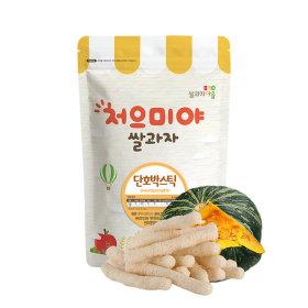 Ssalgwaja ma-eul/squash stick/baby rice snack 10+3