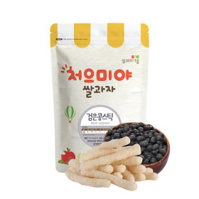 Ssalgwaja ma-eul/black soybeen stick/baby rice snack 10+3