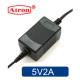 5V 어댑터 5V2A 케이블일체형 CCTV LED 공유기 아답터