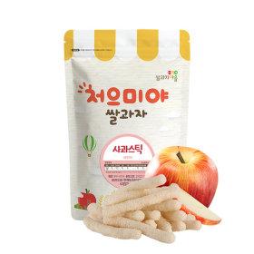 Ssalgwaja ma-eul/apple stick/baby rice snack 10+3