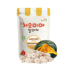 Ssalgwaja ma-eul/puffing-squash/baby rice snack 10+3