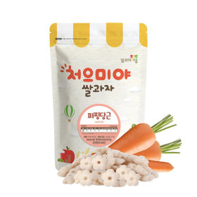 Ssalgwaja ma-eul/puffing-carrot/baby rice snack 10+3
