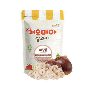 Ssalgwaja ma-eul/puffing-chestnut/baby rice snack 10+3