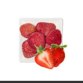Ssalgwaja ma-eul/strawberry chip/freeze drying/baby rice snack 10+3