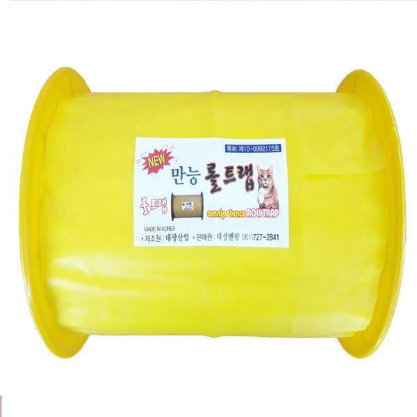 대용량 황색끈끈이롤트랩/하우스 과수농가 유인제함유 상품이미지