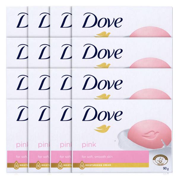 도브 핑크 뷰티바 대용량 비누 세수비누 100gX16개 상품이미지