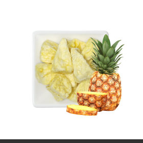 Ssalgwaja ma-eul/pineapple chip/freeze drying/baby rice snack 10+3