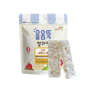 Ssalgwaja ma-eul/Ureumttuk nemo yellow/baby rice snack 10+3