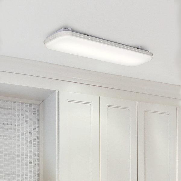 플랜룩스 LED주방등 플리아 25W 슬림 아파트 LED조명 상품이미지
