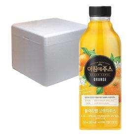 서울 아침에주스 블랙라벨 오렌지 750ml  6개