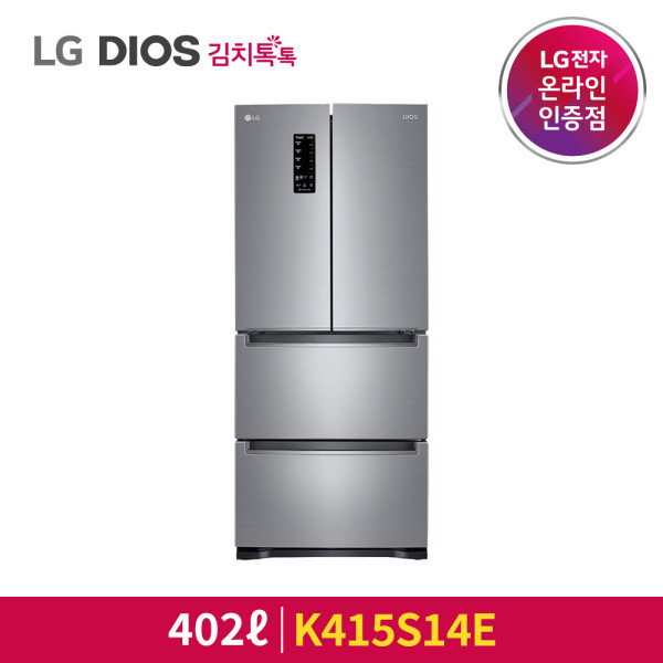 LG 디오스 K415S14E 김치냉장고스탠드형 402L 1등급 상품이미지
