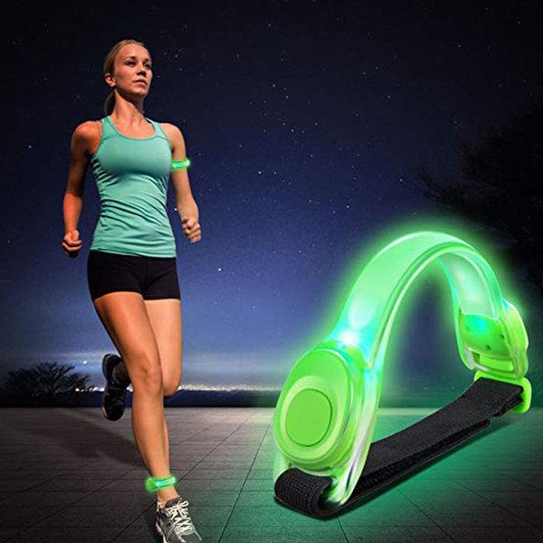 야간 스포츠 LED 암밴드 안전등 라이트 밴드 팔찌 상품이미지
