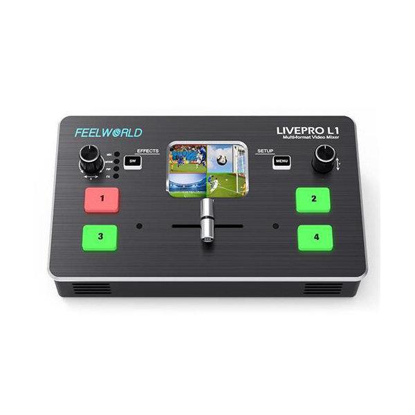 구매대행  필월드 멀티 포맷 비디오 믹서 LIVEPRO L1 상품이미지