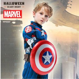 어벤져스 캡틴아메리카 프리미엄 코스튬 아동 할로윈