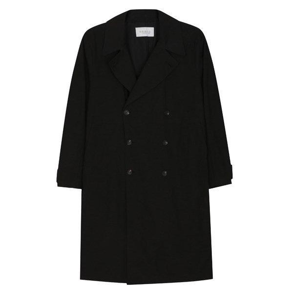 남성 국산 캐주얼 카라넥 롱 트렌치 코트 MR CTA M2 검정_P087432118 상품이미지
