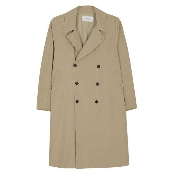 남성 국산 캐주얼 카라넥 롱 트렌치 코트 MR CTA M2 베이지_P087432130 상품이미지