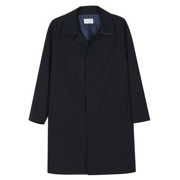 남성 국산 간절기 베이직 카라넥 트렌치 코트 MR CTA M4 네이비_P087432083 상품이미지